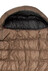 Yeti Passion Three Sleeping Bag XL brown/black